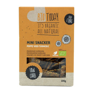 BioToday Mini Snacker 100 g mak & kurkuma