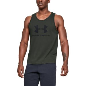 Tielko Sportstyle Logo Tank Green Under Armour