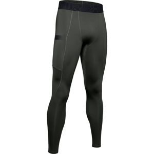 Under Armour Pánske kompresné legíny Gametime Compress Gear Legging Green  XL