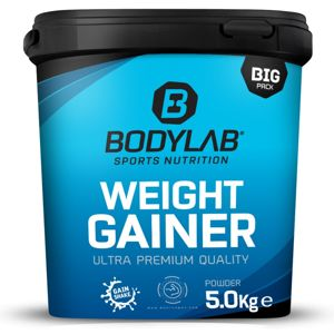 Bodylab24 Weight Gainer 5000 g vanilka