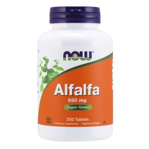 Now Foods Alfalfa 250 tabliet