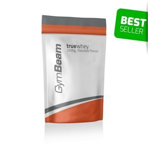 GymBeam True Whey Protein 1000 g white chocolate