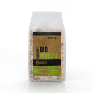 VanaVita BIO Musli 500 g crispy fruits & seeds