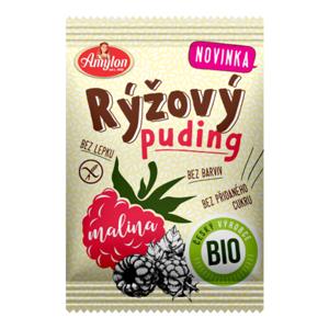 Amylon BIO Ryžový puding 40 g malina