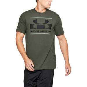 Under Armour Tričko Blocked Sportstyle Logo Green M