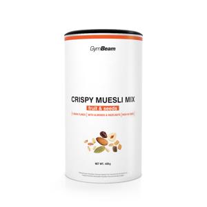GymBeam Crispy Muesli Mix 420 g čokoláda ovocie