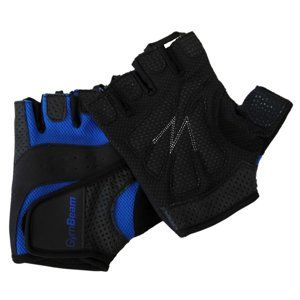 GymBeam Fitness rukavice Dexter black - blue S