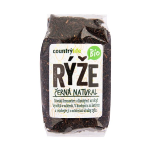 Country Life BIO Ryža čierna natural 500 g