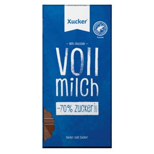 Xucker Mliečna čokoláda 80 g