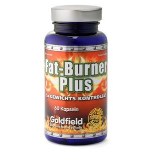 Goldfield Fat-Burner Plus 60 tabliet bez príchute