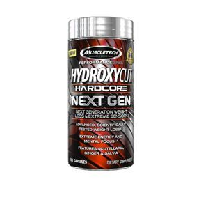 MuscleTech Hydroxycut NEXT GEN 100 kaps unflavored