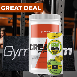 GymBeam Kreatín Crea7in 600 g peach ice tea