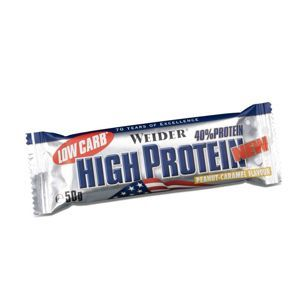 WEIDER LOW CARB HIGH PROTEIN 50 g proteinová tyčinka chocolate