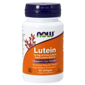 Now Foods Lutein 10 mg 60 kapsúl