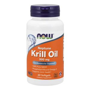 NOW Krill Oil Neptune olej z krilu 500 mg 60 softgel kapsúl 60 kaps.