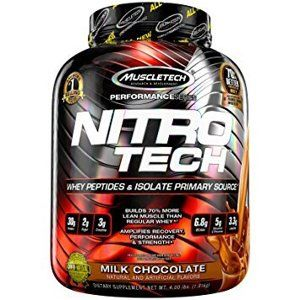 MuscleTech Nitro-Tech Performance 910 g cookies & krém