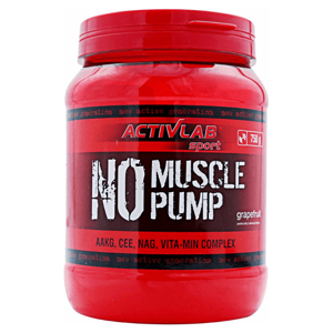 Activlab NO Muscle Pump 750 g lemon