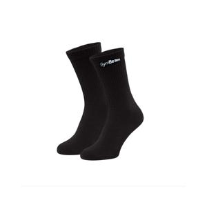 GymBeam Ponožky 3/4 Socks 3Pack Black  L/XL