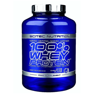 Scitec Nutrition 100 Whey Protein 920 g strawberry