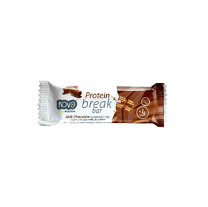 Novo Nutrition Protein break bar 21,5 g milk chocolate