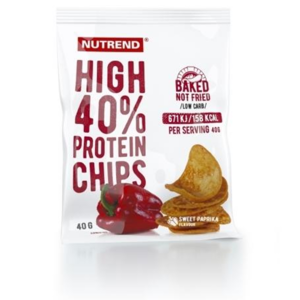 Nutrend High Protein Chips 40 g paprika