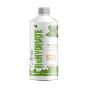 GymBeam ReHydrate 1000 ml ružový grapefruit