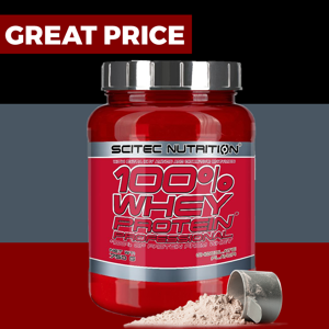 Scitec Nutrition 100% Whey Protein Professional 750 g lemon cheesecake