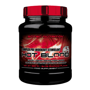Scitec Nutrition Hot Blood 3.0 300 g orange maracuja