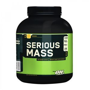 Optimum Nutrition Serious Mass 2727 g cookies & krém
