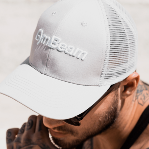 GymBeam Šiltovka Mesh Panel Cap Grey