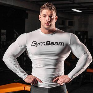 Kompresné tričko Spiro White/Black - Gym Beam  XL