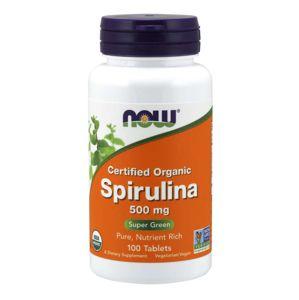 NOW Foods Spirulina 500 mg 100 tab.