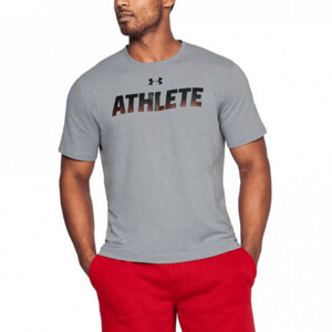 Under Armour Tričko Athlete SS Grey M