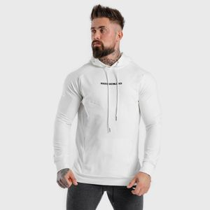 Squat Wolf Mikina Statement Hoodie White  S