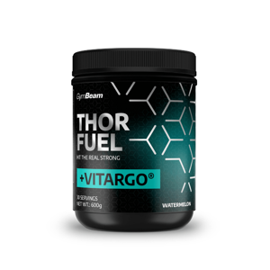 GymBeam Thor Fuel + Vitargo 600 g watermelon