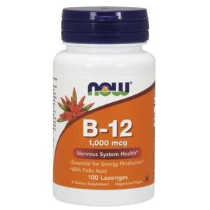 NOW Foods Vitamin B-12 1000 mcg 100 tab.