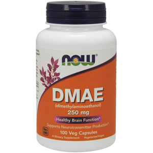 NOW Foods DMAE 250 mg 100 kaps.