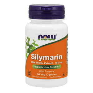 NOW Foods Silymarin 60 kaps.