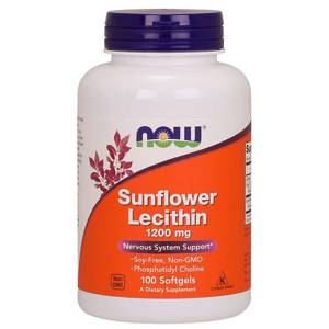 NOW foods Sunflower Lecithin 1200mg 100 tab.
