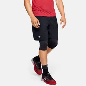 Under Armour Šortky Launch SW 2in1 Black  M