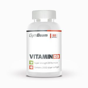 GymBeam Vitamin D3 2000 IU 60 kaps.