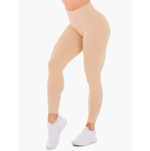 Ryderwear Dámske legíny Adapt High Waisted Scrunch nude  XL